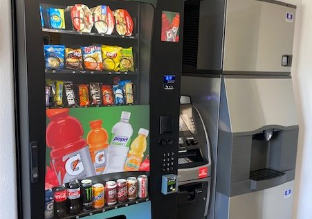 Convenient Vending Area